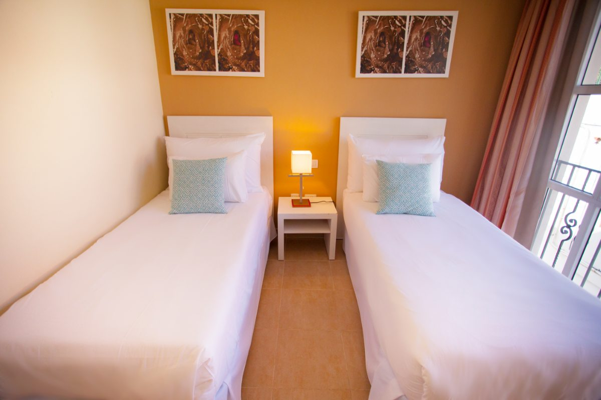 Апартаменты с двумя спальнями повышенной комфортности